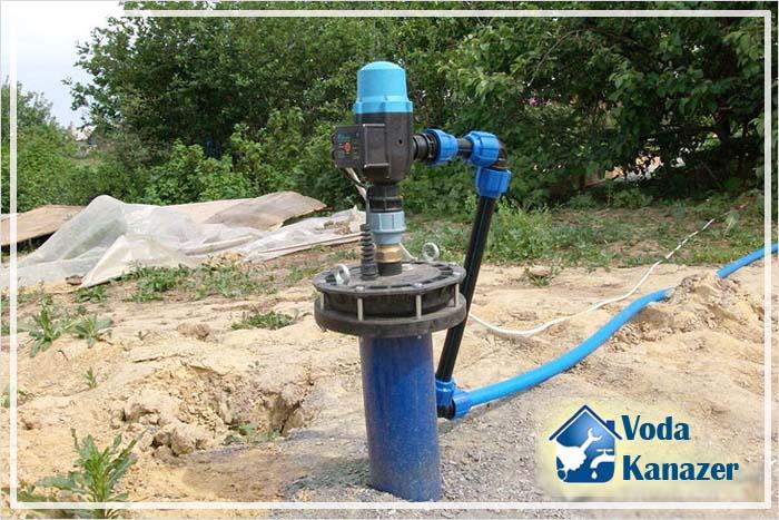 водопровод на даче из колодца простая схема