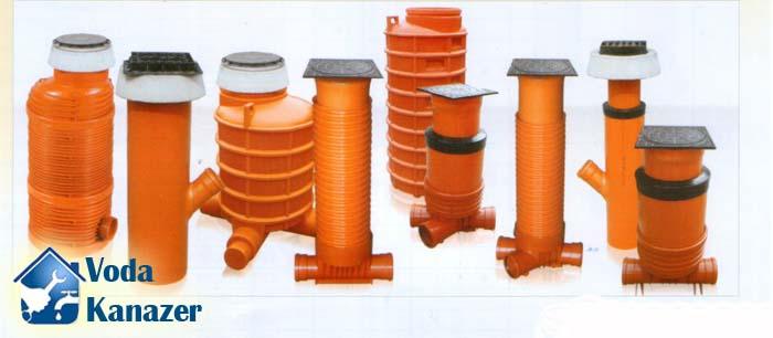 смотровые колодцы канализации