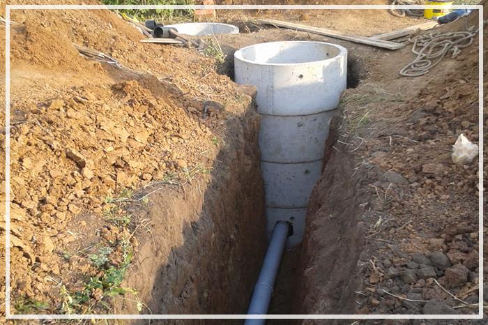 объем канализационного колодца