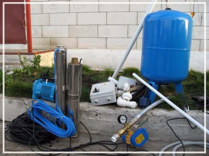 оборудование для скважины под воду