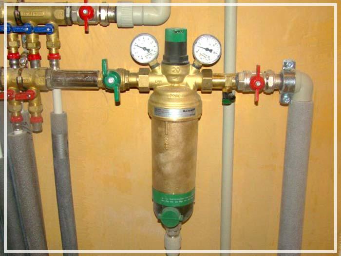 фильтры грубой очистки для воды из скважины