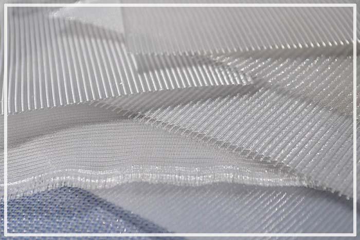 синтетическая сетка галунного плетения