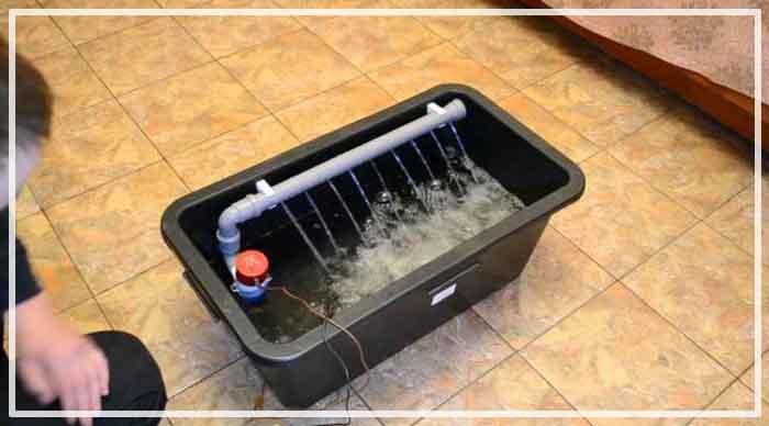 напорная аэрация воды из скважины