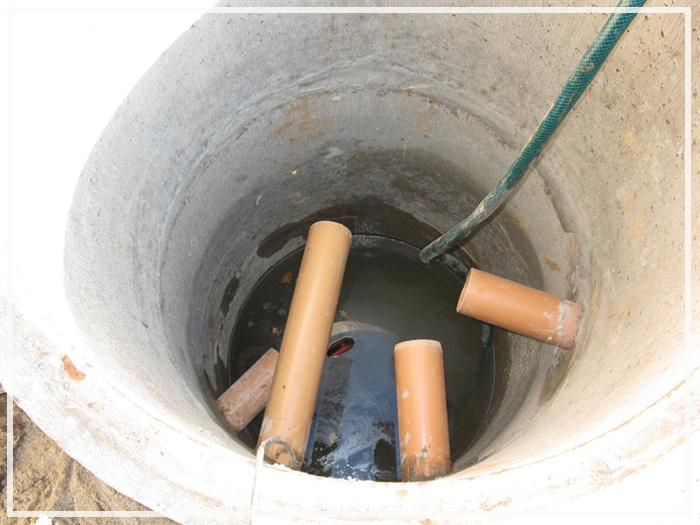 Дренажный колодец для канализации своими руками