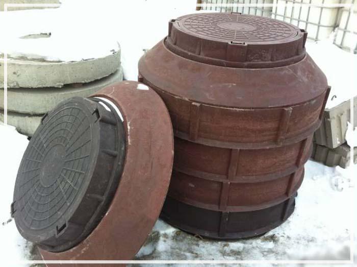 перепадные колодцы канализации