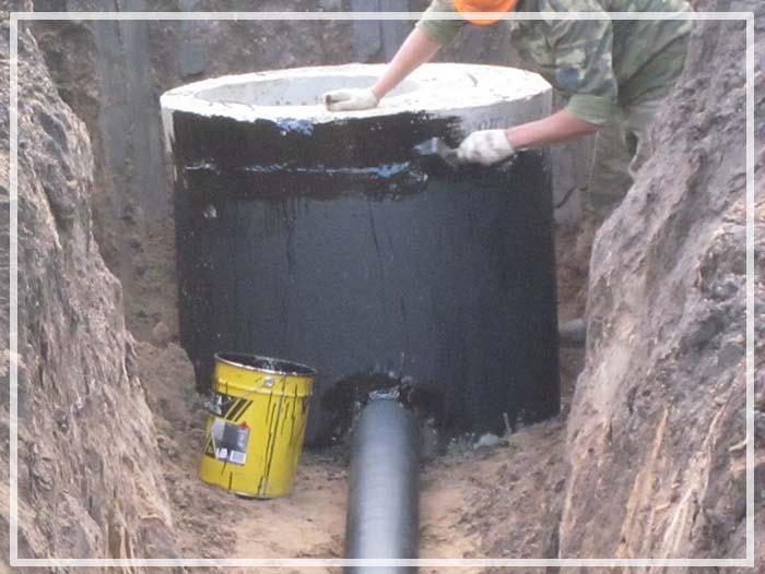 гидроизоляция колодца
