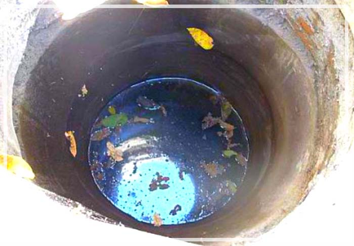 вода в колодце пахнет болотом что делать