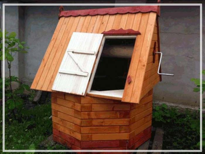 домик для колодца своими руками пошаговая инструкция