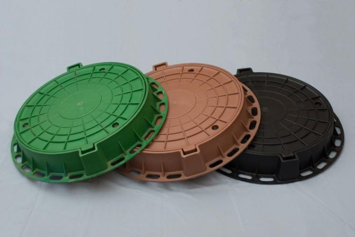 встраиваемые крышки для колодцев из пластика