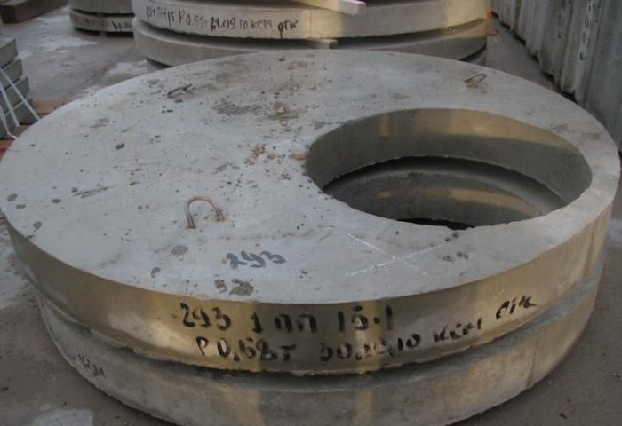 элементы колодцев жби объем бетона