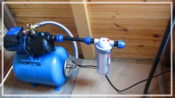 водоснабжение частного дома