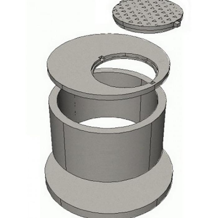 элементы колодцев объем бетона