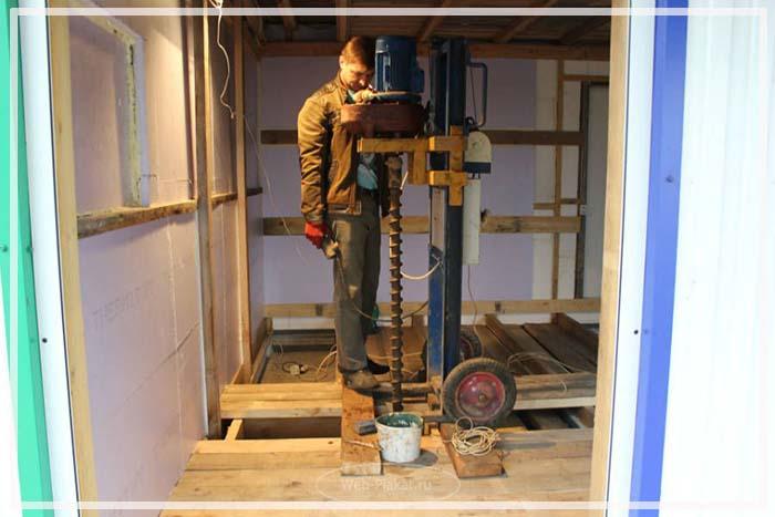 Советы как сделать фундамент под дом уже стоящий