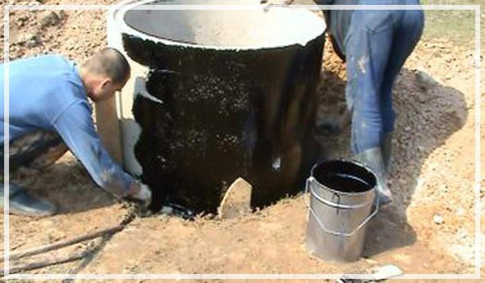 строительство колодца из бетонных колец своими руками