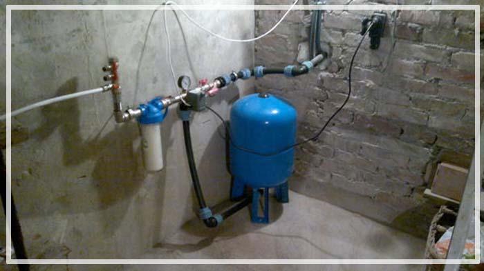 бурение скважин на воду в доме
