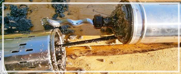 почему идет песок из скважины