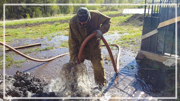 ремонт скважины на воду своими руками