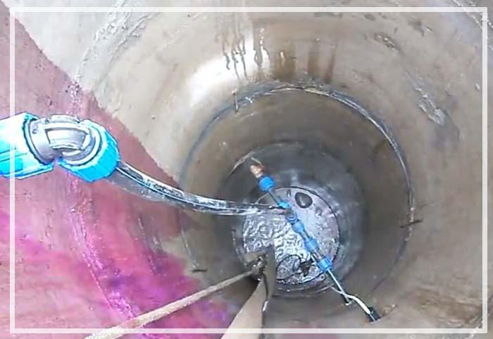 как очистить воду из колодца