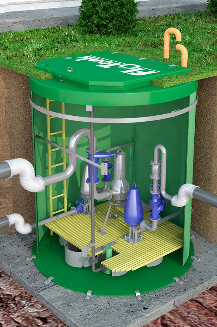 канализационная насосная станция кнс