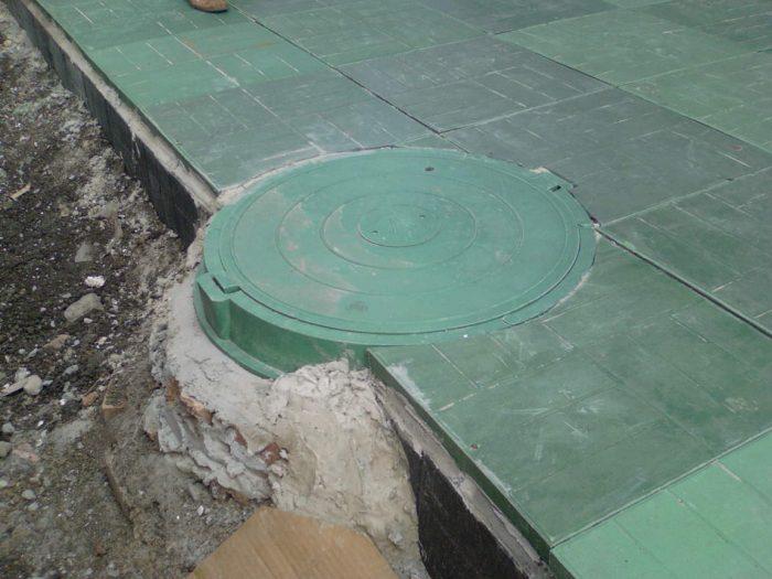монтаж канализационного колодца снип