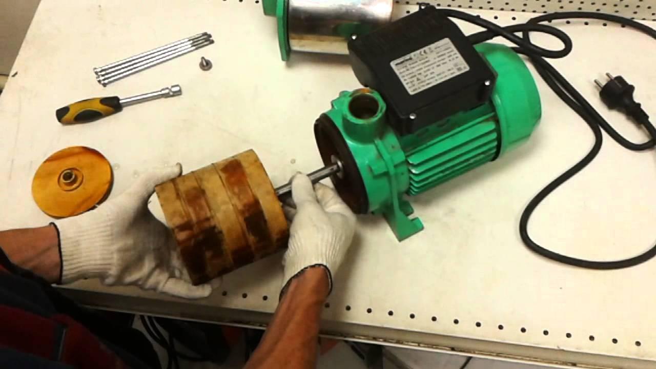 Центробежный насос ремонт своими руками видео
