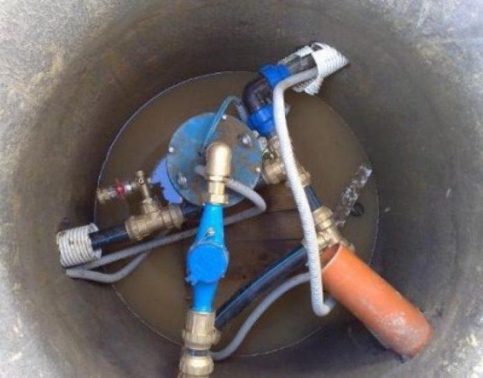 пропала вода в колодце