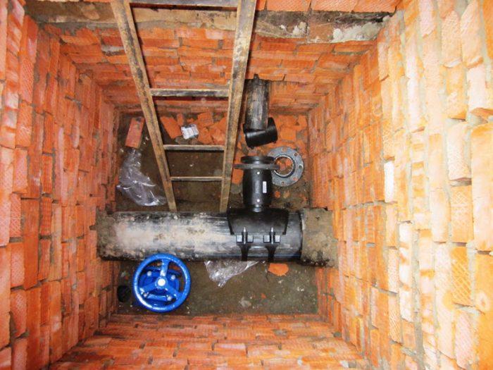 счетчик воды для установки в колодце