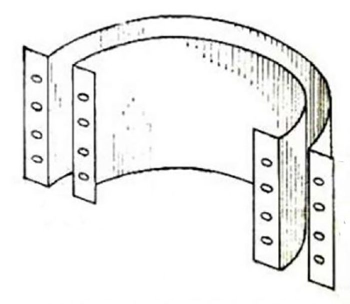 форма для бетонных колец