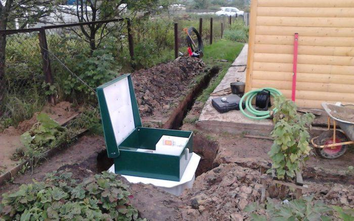 насосная станция для канализации частного дома