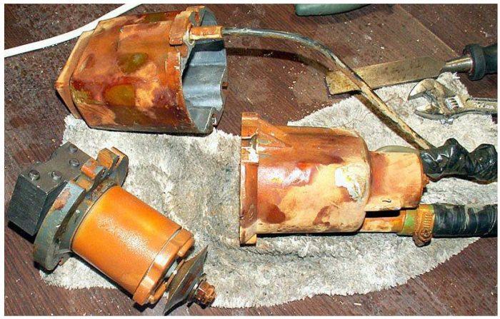 ремонт погружного насоса