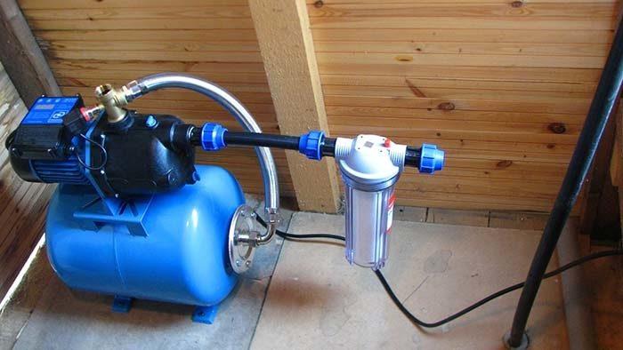 станция для подъема воды
