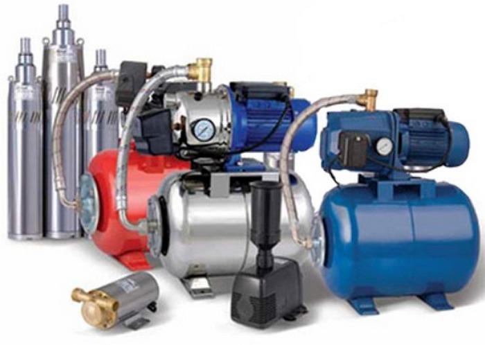 водяные насосы для домашнего водопровода