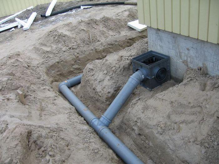 ливневые системы водоотведения
