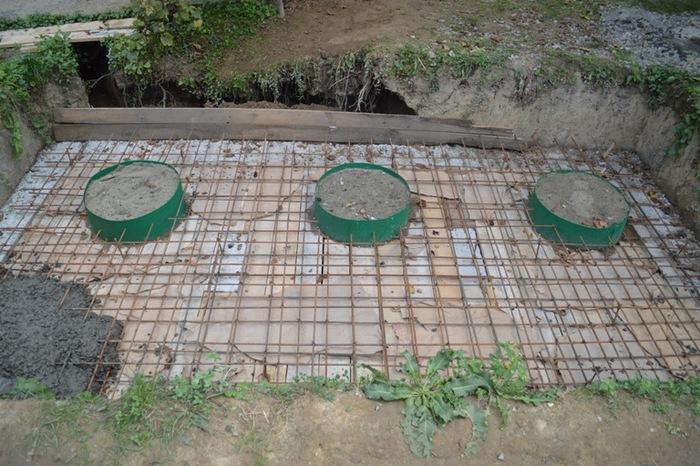монолитные септики из бетона