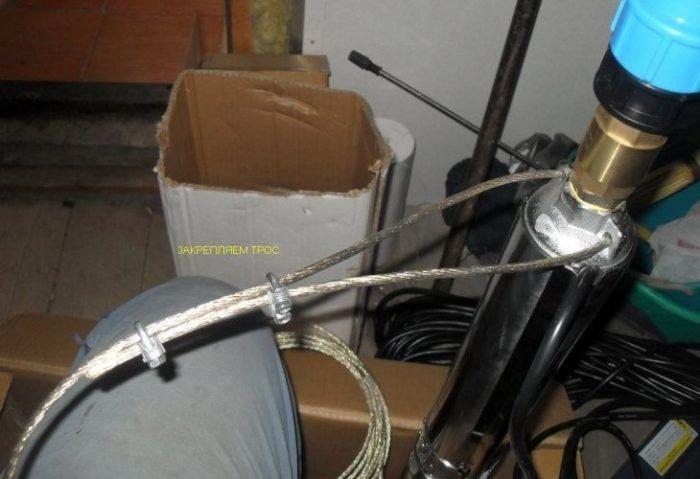 установка насосов в скважину