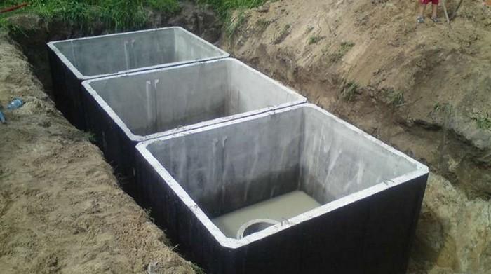 септики бетонные