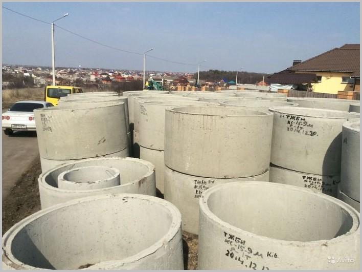 переливной септик из бетонных колец