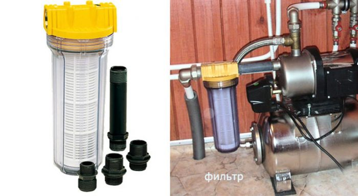 фильтр для насосной станции