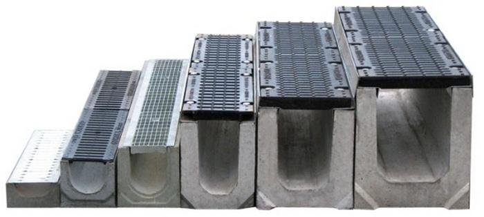 водоотводные лотки бетонные