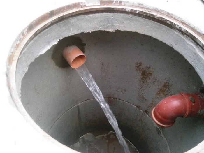 сделать септик из бетонных колец