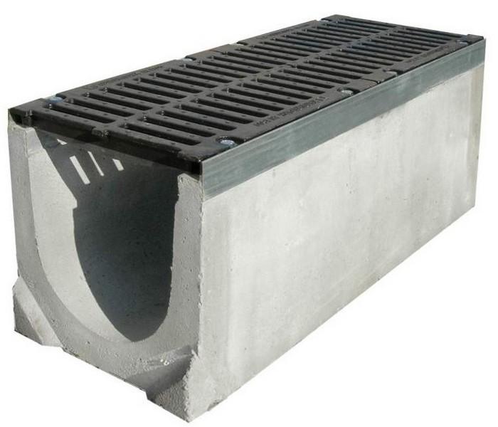 водоотводный лоток бетонный