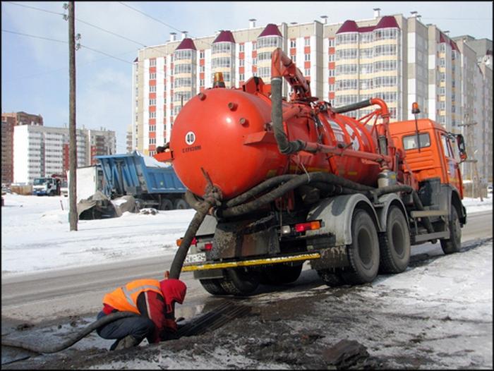 чистка ливневой канализации