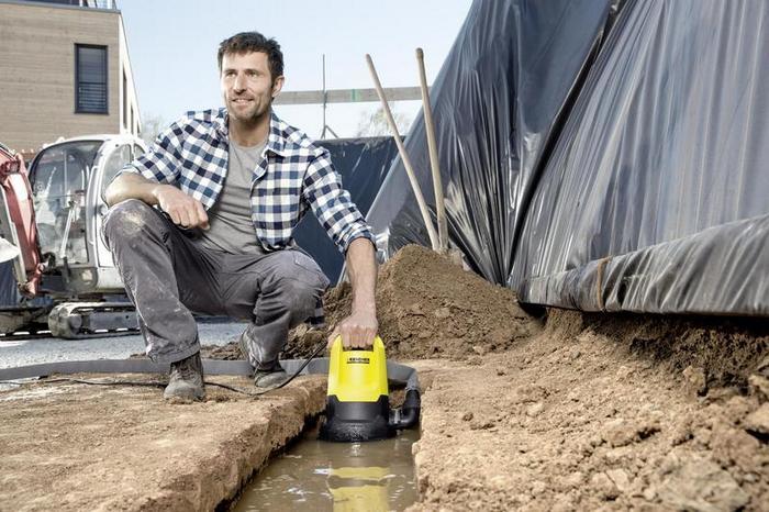 погружной центробежный насос для грязной воды