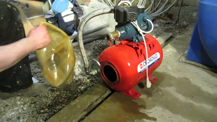 ремонт насосов для воды