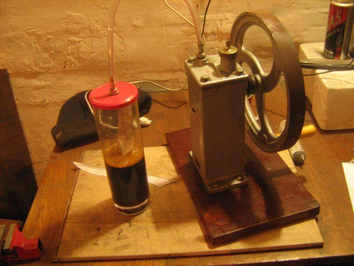 вакуумный насос из компрессора