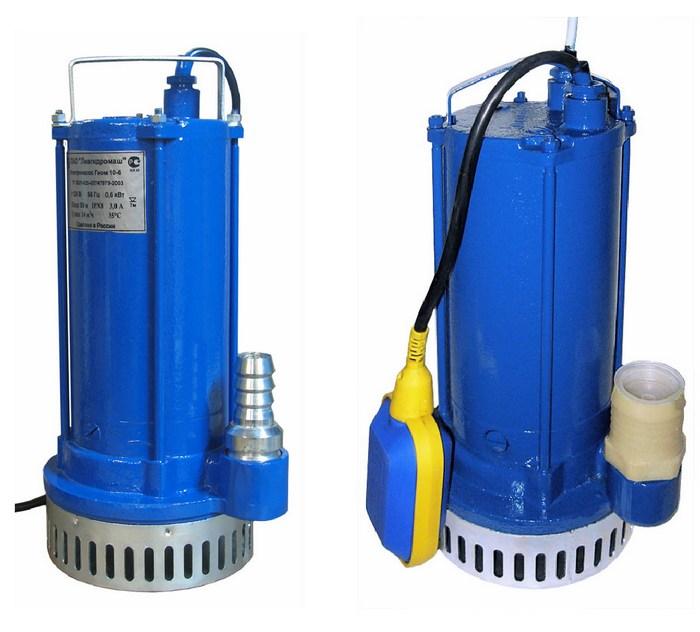 погружной дренажный насос для грязной воды