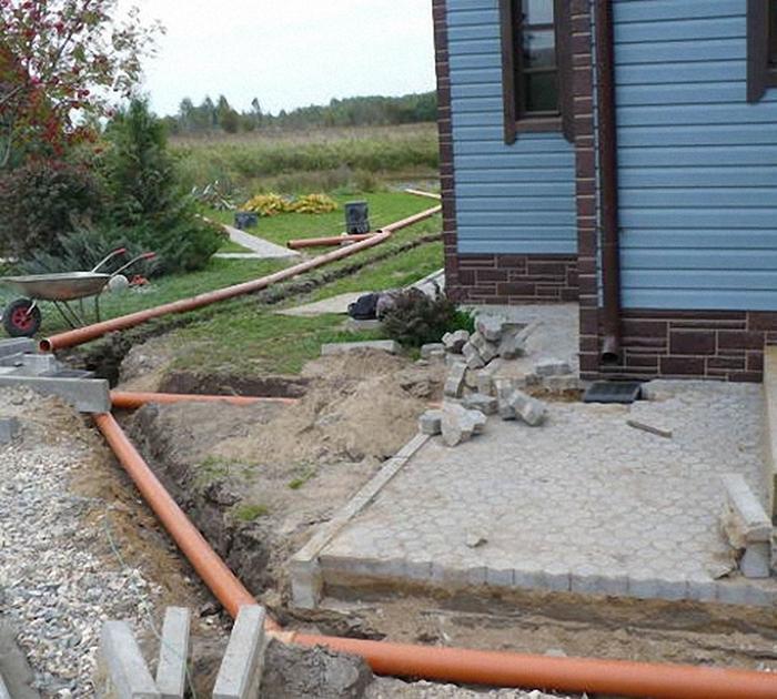 ливневая канализация устройство