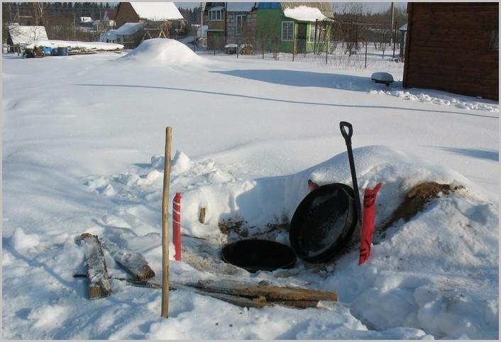 консервация септиков на зиму