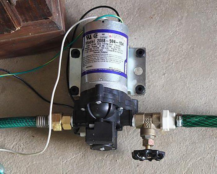 как подключить реле давления к гидроаккумулятору