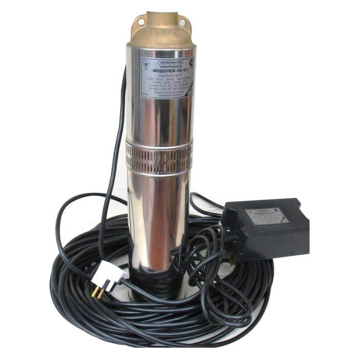 глубинный насос для скважины 40 метров
